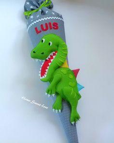 bastel-schultüten-paradies - Bastelset Dino Rex, selbst ...