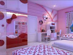 Hello Kitty Schlafzimmer Für Ihr Kind #Schlafzimmermöbel #dekoideen  #möbelideen