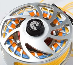 Nautilus - prefer other reels, but line color combo in this picture is very…