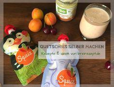 Quetschies selber machen: Rezepte für Quetschbeutel