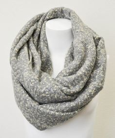 Take a look at this Gray Boucle Infinity Scarf on zulily today!