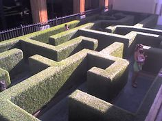 Maze at Town Square shopping centre, Las Vegas