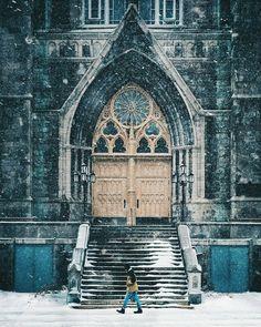 Montreal's Saint-Edouard church in La Petite-Patrie