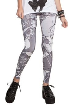 Disney Alice In Wonderland Leggings