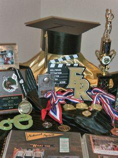 graduation memorabilia table 2