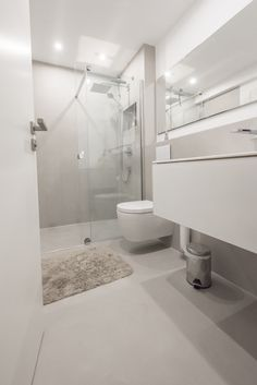 Leather Pants, Bathtub, Bathroom, Basement Bathroom Ideas, Minimalist Bathroom Design, House Floor, Painting Contractors, Leather Jogger Pants, Standing Bath