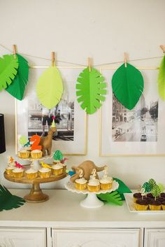 Dinosaur Birthday Party - Andrea W - Dinosaur Birthday Party Dinosaur Birthday Party - Dinasour Birthday, Dinosaur First Birthday, Fourth Birthday, 3rd Birthday Parties, Dinasour Party, Birthday Ideas, Birthday Boys, Dinosaur Party Decorations, Birthday Party Decorations