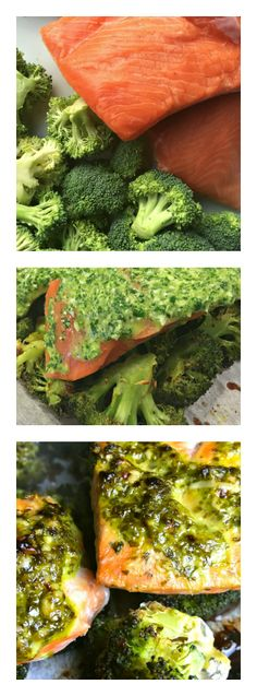 This One-Sheet Cilantro-Parmesan Broccoli Baked Salmon recipe is the perfect meal to enjoy after spending a day in the outdoors. Healthy, light, and savory! (Baking Salmon Soy Sauce)