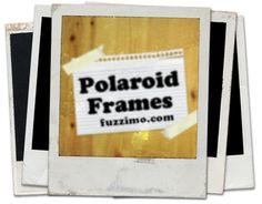 Freebie: High Resolution Polaroid Frames · Scrapbooking | CraftGossip.com
