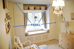 Rambling Renovators: How To Make Cabinets Look Built In