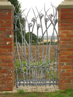 lovely custom metal gate