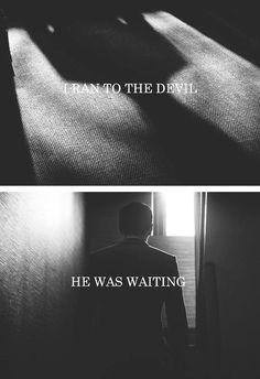 """I ran to the devil. She was waiting."" ~ Vashti (Elisabeth Wheatley)"