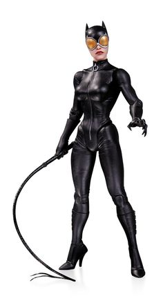 Amazon.com: DC Collectibles DC Comics Designer Action Figures Series 2: Catwoman Figure by Greg Capullo: Toys & Games
