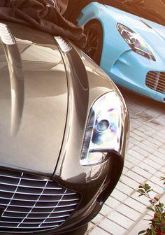 Aston Martin One-77.Very few in the world.