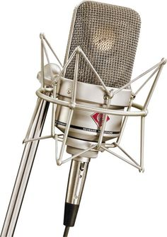 Neumann TLM 49 Condenser Studio Microphone. #mics #microphone #neumann http://www.pinterest.com/TheHitman14/headphones-microphones-%2B/