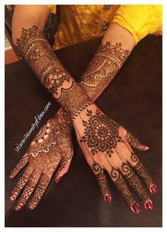 Arabic Henna, Arabic Mehndi Designs, Mehndi Images, Mehndi Designs For Hands, Bridal Mehndi Designs, Henna Mehndi, Henna Art, Rangoli Designs, Wedding Henna