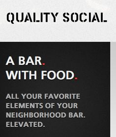 quality social [downtown]