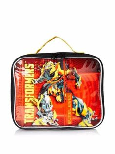 Official Transformers Bumblebee Vertical Yellow /& Blue Insulated Lunch Bag Box