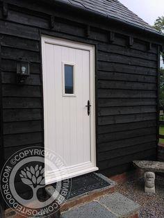 Flint Solidor Composite Door by Timber Composite Doors in White