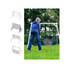 New  ndern Sie Ihre Schaukel in ein Fu balltor oder ein Volleyballnetz Mit diesem patentierten Entwurf haben