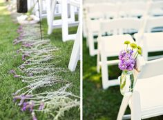 Image detail for -Ceremony Decor on a Budget « Inspiration « Bow Ties & Bliss | One of ...