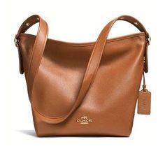 Pebbled-Duffle-Leather-Shoulder-Bag