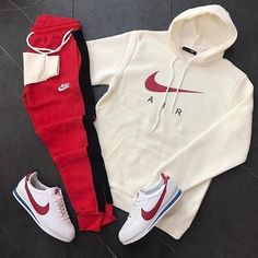 Cute Nike Outfits, Dope Outfits For Guys, Swag Outfits Men, Stylish Mens Outfits, Sporty Outfits, Cute Comfy Outfits, Fashion Outfits, Hype Clothing, Mens Clothing Styles