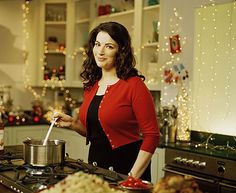I enjoy the cozy conversationalist tone of all Nigella's cookbooks too...and shows