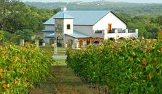 Flat Creek Estate Winery, Marble Falls, TX (fabulous wine, fabulous place to get married!)