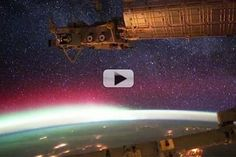 Space Station's Aurora Fly-Through Video