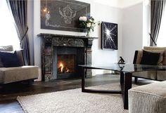 fireplace frieze