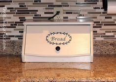 Hometalk :: Disguise Your Electronics Charging Station in Plain Sight I pinned primarily for countertop/backsplash/tiles Bobbie Electronic Charging Station, Charging Station Organizer, Charging Stations, Towel Organization, Kitchen Organization, Kitchen Storage, Woodworking Bench For Sale, Woodworking Plans, Woodworking Equipment