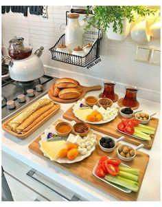 #breakfast #table #ideas #food #breakfasttableideasfood Ein #Frühstück zum Verlieben