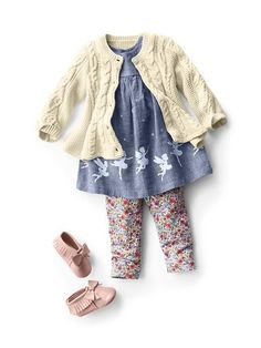 nice Baby Clothing: Baby Girl Clothing: shop by outfit new arrivals Outfits Niños, Baby Outfits Newborn, Toddler Outfits, Dresses Kids Girl, Little Girl Outfits, Little Girl Fashion, Toddler Girl Style, Toddler Fashion, Kids Fashion
