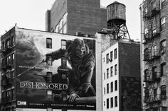 Advertising - Dishonored Games - Soho - Mahnattan - New York - United States Photographic Print by Philippe Hugonnard at AllPosters.com