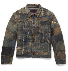 KAPITAL Boro Patchwork Denim Jacket | MR PORTER