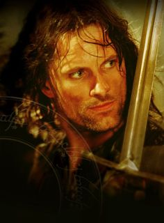 Aragorn - The Lord of the Rings: The Fellowship of the Ring..he is too cute