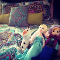 Frozen inspired bedding