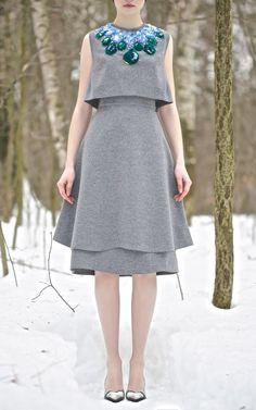 Vika Gazinskaya Fall/Winter 2013 Trunkshow Look 6 on Moda Operandi