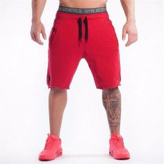 Cheap brand men shorts, Buy Quality mens brand shorts directly from China mens shorts Suppliers: 2017 Brand High Quality Cotton Men shorts Bodybuilding Fitness Gasp short masculino workout jogger shorts golds Casual Shorts For Men, Mens Gym Shorts, Shorts Nike, Jogger Shorts, Men Casual, Sport Shorts, Sport Casual, Running Shorts, Casual Pants