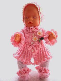Die 49 Besten Bilder Von Puppenkleidung Häkeln Tutorials Knitting