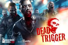Downloaded this on the iPhone. Impressive gameplay, but a bit of a bummer that you have to spend money to upgrade weapons. #deadtrigger #zombies #iphone
