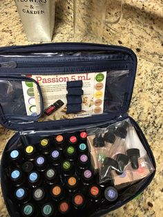 Essential Oils fit perfectly inside a Thirty-One Glamour Case