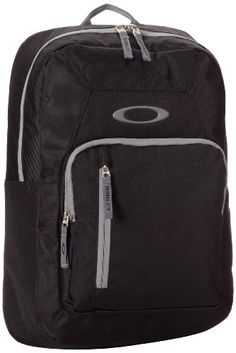 Oakley Mens Works Pack 20L001 Backpack Black One Size -- Check out the image by visiting the link.