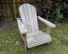 DIY Adirondack chair - woodworking plans