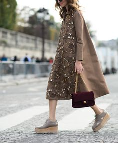 embellished. Chiara in Paris. #TheBlondeSalad