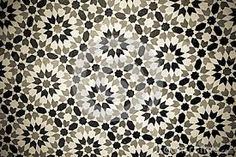 black white and gray moroccan tiles - Google Search