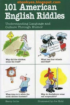 Learn english englishpix on pinterest free ebooks 101 american english riddles fandeluxe Image collections