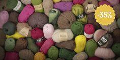 24 filati di lana in PROMOZIONE per tutto Maggio  www.icustodideltempo.com