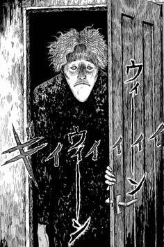 black paradox, junji ito, manga